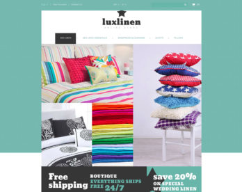 creation linge de maison dropshipping