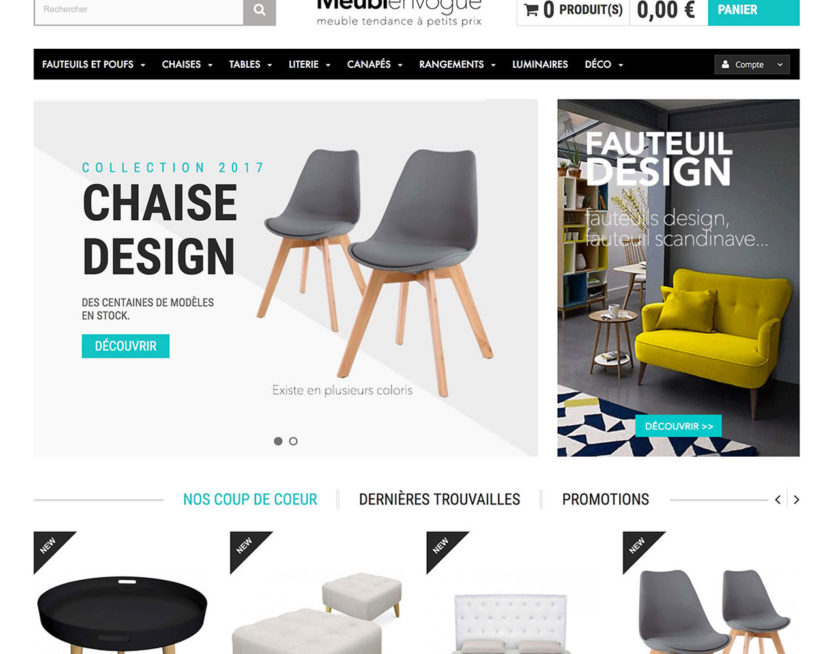site mobilier dropshipping