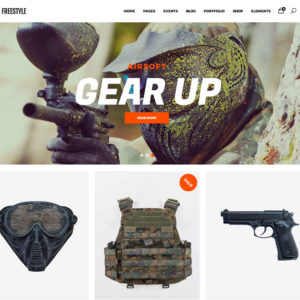 creation site airsoft en dropshipping