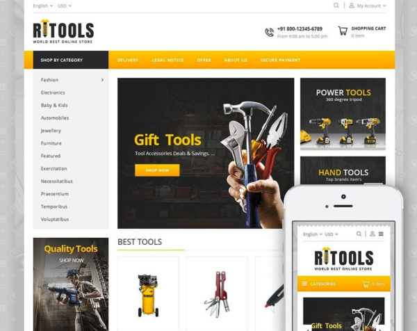 creation site bricolage dropshipping