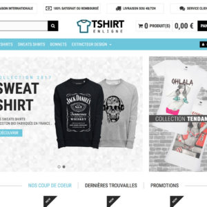 creation site tshirt en droshipping