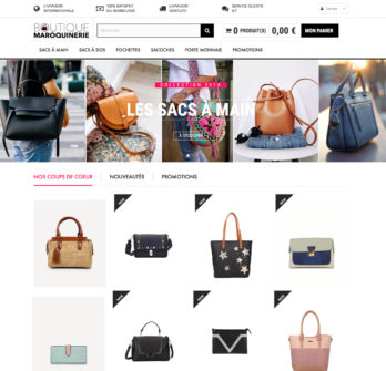 Site dropshipping sac à main